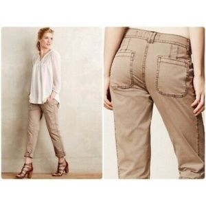 ✨Anthropology Hei Hei Khaki Pants